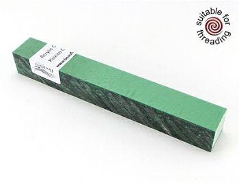 Kirinite Green Ice pen blank